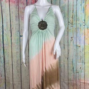 Sky Tye Dye Medallion Dress